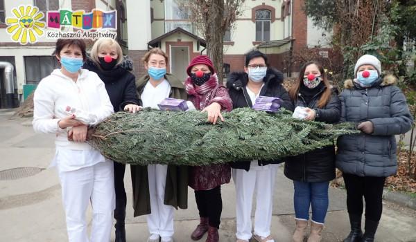 Bohócdoktorok, karácsony, kórháztámogatás