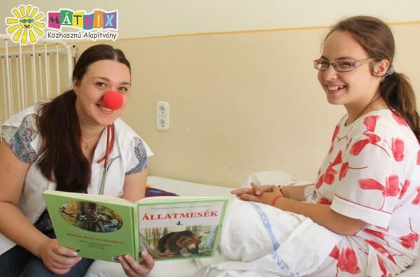 Meseterápia a bohócdoktorokkal - mesedoktorok