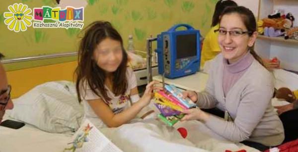 Bohócdoktor, gyermeklátogatás