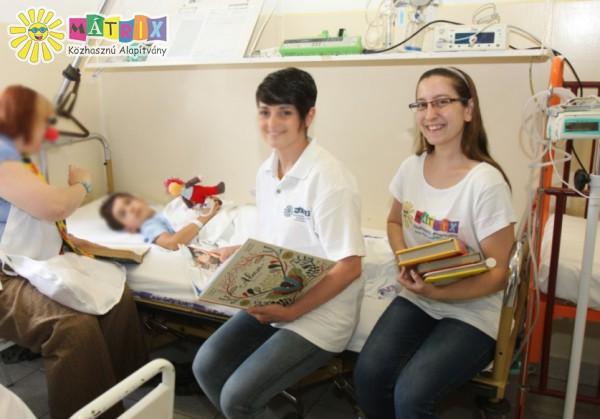 Gyermekkórház, bohócdoktor vizit