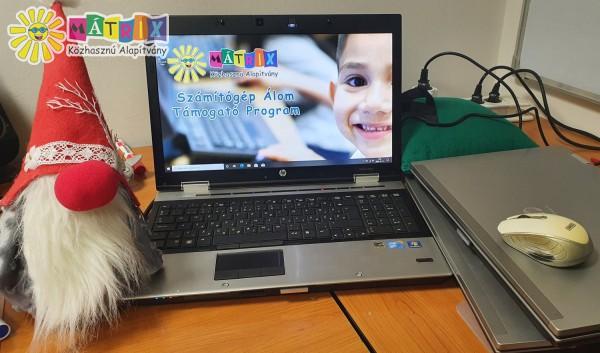 Számítógép Álom, számítógép adományok