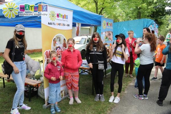 Bohócdoktor önkéntesek