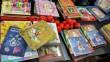 Piros orros könyvcsomagok, gyermekkórház bohócdoktor támogatás