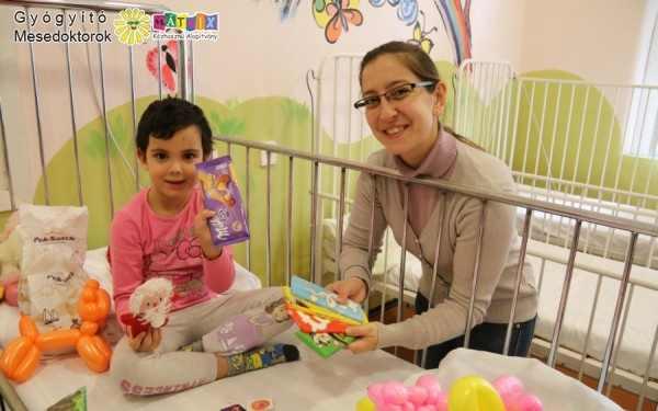 gyermekmentő kórházi gyógyítás támogatása