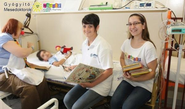 bohócdoktorok gyermekmentő kórházi támogatása